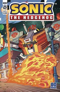 [Sonic The Hedgehog #32 (Cover A Yardley) (Product Image)]