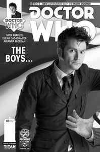 [Doctor Who: 10th #1 (DCUK Variant) (Product Image)]