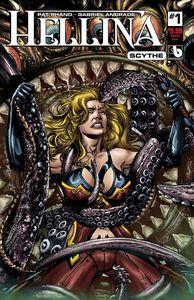 [Hellina: Scythe #1 (Bondage Cover) (Product Image)]
