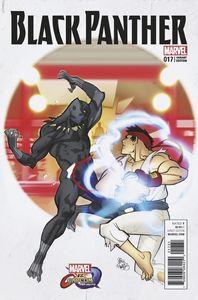 [Black Panther #17 (Marvel Vs Capcom Variant) (Product Image)]