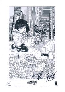 [Blade Runner 2019: Volume 1: Welcome To Los Angeles (Forbidden Planet Exclusive Signed Mini Print Edition) (Product Image)]