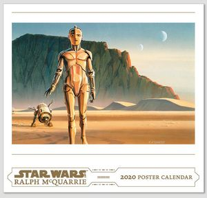 [Star Wars: Art Poster Calendar: Ralph Mcquarrie 2020 (Product Image)]