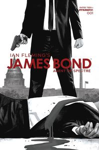 [James Bond: Agent Of Spectre #1 (Epting Black & White Variant) (Product Image)]