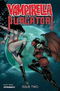 [Vampirella Vs Purgatori #2 (Premium Sarraseca Variant) (Product Image)]