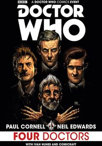 [Doctor Who: Titan: The Four Doctors (Exclusive Signed Edition) (Product Image)]