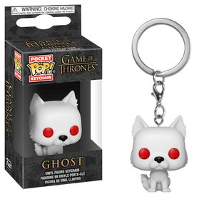 [Game Of Thrones: Pocket Pop Keychain: Ghost (Product Image)]