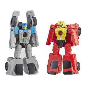 [Transformers: War For Cybertron: Siege Micromasters Action Figure: Race Car Patrol (Product Image)]