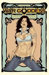 [War Goddess #1 (Art Nouveau Variant) (Product Image)]