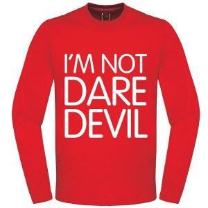 [Marvel: Sweatshirt: I'm Not Daredevil (Product Image)]