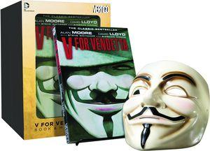 [V For Vendetta: Book & Mask Set (Product Image)]