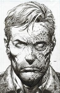 [Walking Dead: Deluxe #1 (Cover B Finch & Mccaig Raw Variant) (Product Image)]