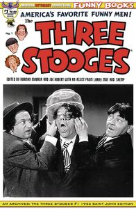 [AM Archives: The Three Stooges #1 (1953 Limited Edition Black & White Photo Cover) (Product Image)]