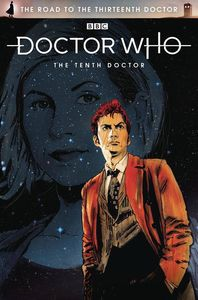 [Doctor Who: Road To The 13th Doctor: 10th Doctor Special #1 (Cover A Signed Edition) (Product Image)]