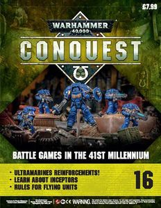 [Warhammer 40K: Conquest: Figurine Collection #16 (Product Image)]