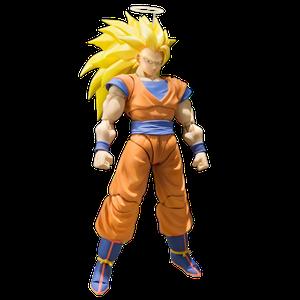 [Dragon Ball Z: S.H. Figuarts Action Figure: Super Saiyan 3 Son Goku (Product Image)]