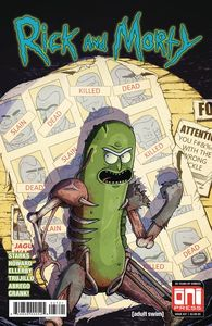 [Rick & Morty #37 (Cover B Vasquez Variant) (Product Image)]
