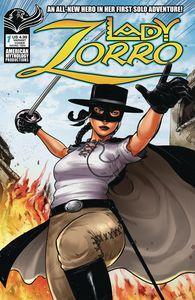 [Lady Zorro #1 (Cover B Swashbuckling Watts) (Product Image)]