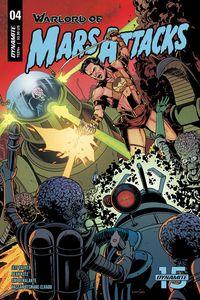 [Warlord Of Mars Attacks #4 (Cover B Laming) (Product Image)]