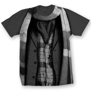 [Doctor Who: T-Shirts: 4th Doctor Costume (Forbidden Planet Exclusive) (Product Image)]