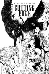 [Cutting Edge: Sirens Song #1 (Cover C Guice Black & White) (Product Image)]