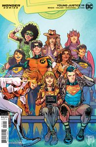 [Young Justice #19 (Card Stock Darko Lafuente Variant Edition) (Product Image)]