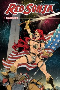 [Red Sonja #18 (Miracolo America Together Variant) (Product Image)]