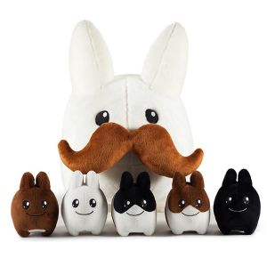 [Labbit: Plush: Stache With 5 Littons (Product Image)]