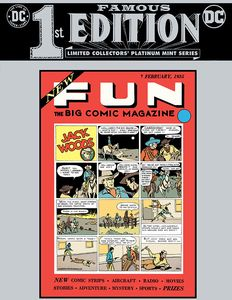 [Famous First Edition: New Fun #1 (Hardcover) (Product Image)]