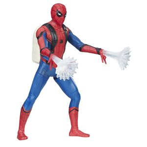 [Spider-Man: Homecoming: Web City Feature Wave 1 Action Figure: Spider-Man (Product Image)]