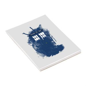 [Doctor Who: Notepad: Modern Art TARDIS (Product Image)]