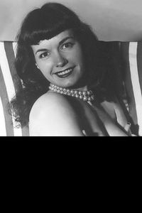 [Bettie Page #5 (Black Bag Photo Cover) (Product Image)]