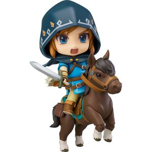 [Legend Of Zelda: Breath Of The Wild: Nendoroid Action Figure: Link (Deluxe Edition) (Product Image)]