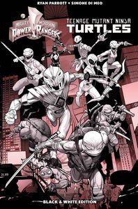[Power Rangers/Teenage Mutant Ninja Turtles (Black & White Edition Hardcover) (Product Image)]