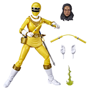[Power Rangers: Lightning Collection Action Figure: Zeo Yellow Ranger (Product Image)]