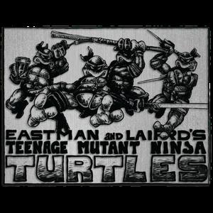 [Teenage Mutant Ninja Turtles: Enamel Pin Badge: By Kevin Eastman & Peter Laird (Product Image)]