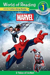 [World Of Reading: Marvel 3-In-1 Listen-Along: 3 Tales Of Action With CD (Product Image)]