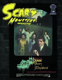 [The cover for Scary Monsters Magazine #95]