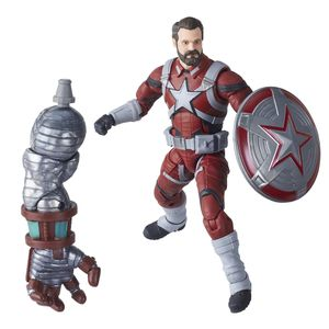 [Marvel Legends: Black Window Action Figure: Red Guardian (Product Image)]