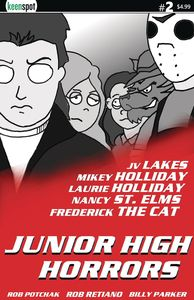 [Junior High Horrors #2 (Cover D - Lethal Weapon Parody) (Product Image)]