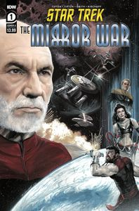 [Star Trek: The Mirror War #1 (Cover A J K Woodward) (Product Image)]