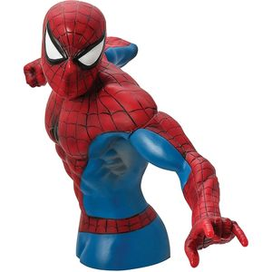 [Spider-Man: Metallic Bust Bank (Product Image)]