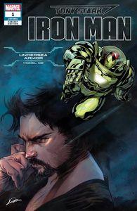 [Tony Stark: Iron Man #1 (Undersea Armor Variant) (Product Image)]