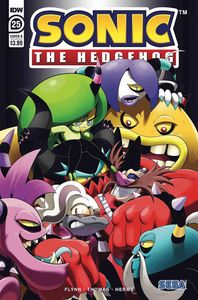 [Sonic The Hedgehog #25 (Cover B Thomas) (Product Image)]