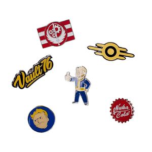 [Fallout 76: Metal Pins (Set Of 6) (Product Image)]