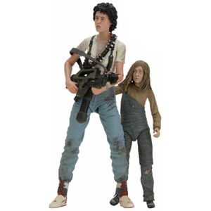 [Aliens: 30th Anniversary: Deluxe Action Figure 2 Pack: Ripley & Newt (Product Image)]