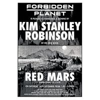 [Kim Stanley Robinson signing Red Mars (Product Image)]