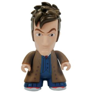 [Doctor Who: TITANS: 10th Doctor: Brown Trench Coat (6.5 Inch Edition) (Product Image)]