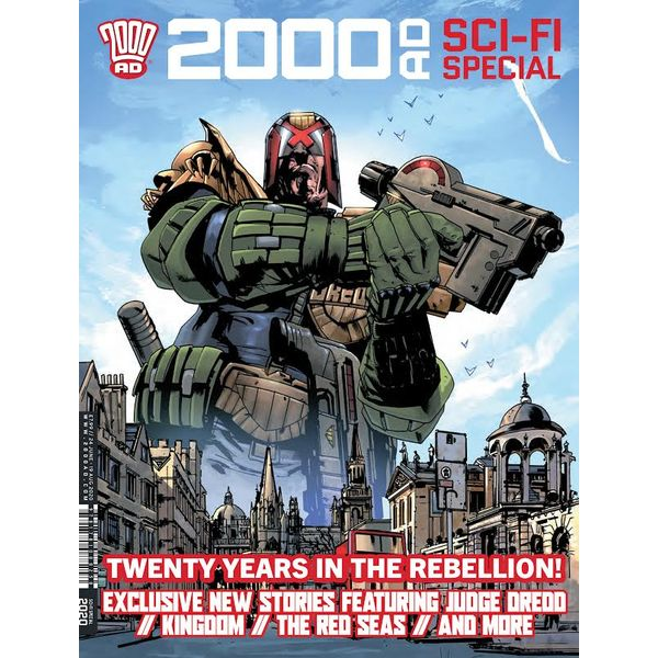 [The cover for 2000 AD Summer Sci-Fi Special 2020]