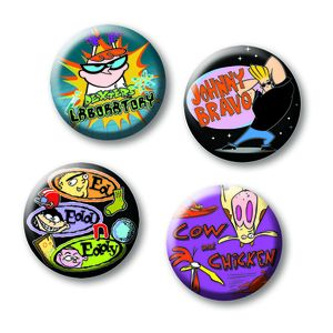 [Cartoon Network: Pin Badge Set: Classic (Product Image)]