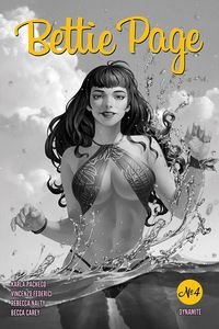 [Bettie Page #4 (Yoon Black & White Variant) (Product Image)]